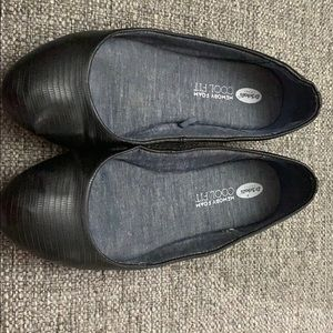 Black flats with rounded toe - Dr. Scholls